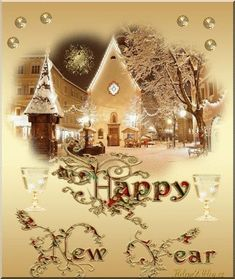 We wish you a happy healthy new year. Glg Sanne and Helmar. Happy New Year Message, Happy New Year Images, Happy New Year Wishes, Happy New Year Greetings, New Year Greeting Cards, Merry Christmas And Happy New Year, Wishes For Mother, Wishes For Husband, Christmas Eve Pictures
