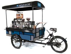 Introducing Coffee Latino's coffee bike and barista bike. Discover more about our eco-friendly mobile coffee vehicles online today. Café Mobile, Mobile Cafe, Mobile Shop, Food Trucks, Catering Vans For Sale, Coffee Food Truck, Mobile Coffee Shop, Food Cart Design, Café Espresso