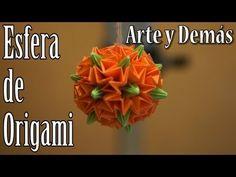 ▶ Tutorial :: Esfera de Origami - YouTube