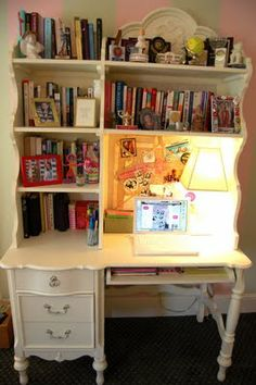 I love this desk would be brilliant for my craft room