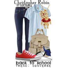 """""""Christopher Robin"""" by lalakay on Polyvore #disney"""