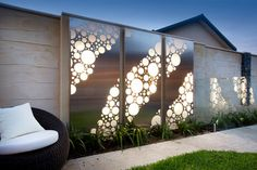Laser Cut Screens & Light Boxes - modern - artwork - perth - Outside In Outdoor Metal Wall Art, Metal Tree Wall Art, Outdoor Walls, Outdoor Decorative Screens, Metal Art, Laser Cut Screens, Laser Cut Panels, Exterior Lighting, Outdoor Lighting