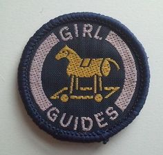 Old Australian Girl Guide Interest Badge - Toymaker | eBay #rockinghorse #toys
