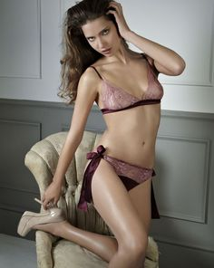 Berry Kiss Boudoir Bra and Brief - fleurofengland.com