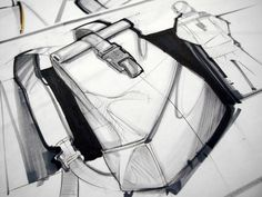 Industrial design: Sketches by Scott Tsukamaki at Coroflot.com