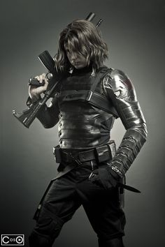 Winter Soldier Cosplay by Aaron Rivin — Photo by Dru Phillips