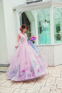 Pin by Maria on ideas para la quinceañera tipo Charro para Melody Wedding Dress Patterns, Pink Wedding Dresses, Designer Wedding Dresses, Bridesmaid Dresses, Ball Gown Dresses, Flower Dresses, Pretty Dresses, Pink Dress, Dress Up