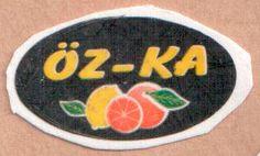 fruit sticker #oz-ka
