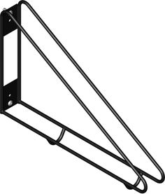 The bike wall rack is vertical bike parking designed to free up floor space while allowing easy accessibility and locking of the bike wheel and frame.