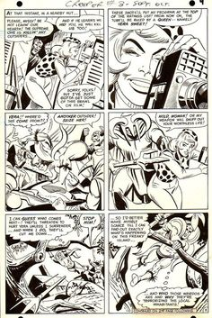 Here's a page from THE CREEPER #3 by Steve Ditko.