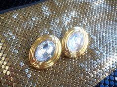 Designer Signed Carolee Vintage Rhinestone by MartiniMermaid, $42.00