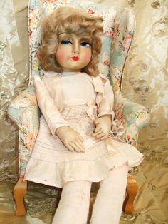 7368c729922 Gorgeous Authentic Blossom Toddler Boudoir Doll 1920 Era