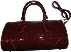 Women s Arcadia Patent Leather Purse Handbag Polo Red  Amazon.co.uk  Amazon 7c5fd48afc9eb
