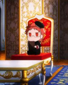 """Chibi Heine Wittgenstein >U Royal Tutor, Shizaya, Anime Chibi, Anime Love, Fairytale, Otaku, Daddy, Prince, Smile"
