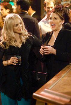 Liz (Madonna) and Karen (Megan Mullally), Will & Grace
