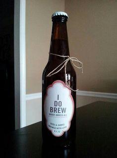 Wedding beer!! Craft beer wedding