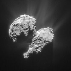 What would it be like to live on a comet? This image shows Comet as seen by Europe's Rosetta spacecraft on March Rosetta Spacecraft, Rosetta Mission, All About Space, Space Probe, Closer To The Sun, Space And Astronomy, Our Solar System, Astrophysics, Space Exploration