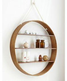 circular shelf, hanging by StarMeKitten