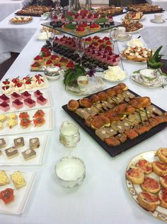 Stunning mid-Summer afternoon Tea Party by talented chef@stuart_bowes