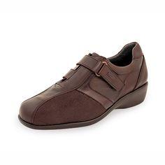 Zapato para Diabetico con Velcro Modena A2 Marron