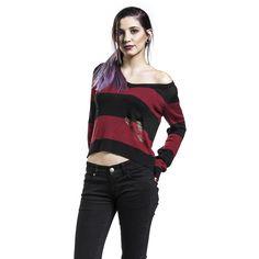 """Maglione donna """"Marceline Stripe Sweater"""" del brand #AdventureTime."""