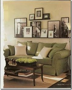 Above couch decor modern living room decorating ideas for apartments unique wall pictures impressive family mirror . above couch decor My Living Room, Home And Living, Living Spaces, Living Area, Small Living, Modern Living, Barn Living, Cozy Living, Living Room Decor Green Couch