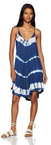 Volcom Damen Juniors Fad Friend Mini Shirt Dress Kleid