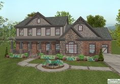 The Habersham House Plan