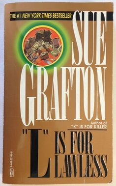 L Is For Lawless by Sue Grafton (1995, Paperback) Bk 12 - Kinsey Millhone Series