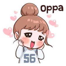 Korean Phrases, Korean Words, Chibi, Manga Anime, Anime Korea, Korean Expressions, Shotting Photo, Korean Stickers, Korean Lessons