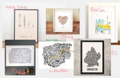 Journelles Maison: TOP11 City Prints