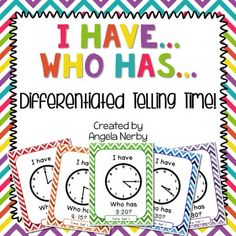 """""""I Have, Who Has?"""" is a game where each student receives a card, listens to clues, and determines when it is his/her turn to play his/her card. It is a chain reaction game. The game also reinforces listening skills. I like to use """"I Have, Who Has?"""" as a quick and fun Morning Meeting activity. ..."""