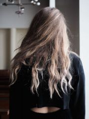 Mori Collective Metallic Shine Winter Pic: Emma Koskinen My Design, Metallic, Long Hair Styles, Winter, Model, Beauty, Collection, Winter Time