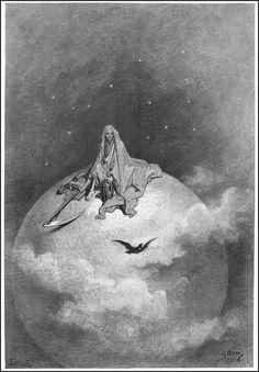 gustave dore the raven | De cráneo: The Raven de Edgard Allan Poe, por Gustave Doré