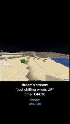 Funny Minecraft Videos, Iphone Life Hacks, Minecraft Wallpaper, Keep Dreaming, Dream Art, Funny Short Videos, Coping Mechanisms, Hopeless Romantic, Dream Team