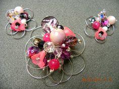 Ciondolo e orecchini - Earrings and pendant
