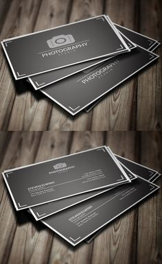 Photography Business Card #businesscards #branding #logodesign #businesscardtemplate #photoshoppsdfiles