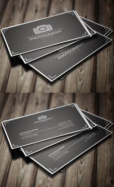 Photography Business Card #businesscards #branding #logodesign #businesscardtemplate #photoshoppsdfiles