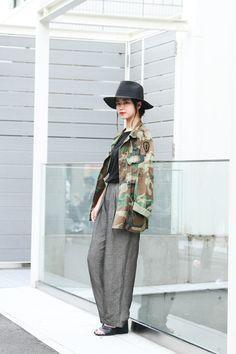 ストリートスナップ原宿 - suzukaさん | Fashionsnap.com