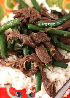 Thai Steak and Green Bean Stir Fry from Barefeet In The Kitchen