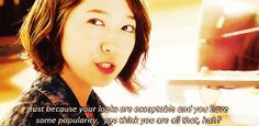 you have fallen for me park shin hye gif My Lover Quotes, Korean Drama Quotes, Park Shin Hye, Kdrama, Heartstrings, Fans, Kpop, Followers, Korean Drama