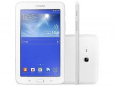 "Tablet Samsung Galaxy 8GB Tela 7"" Wi-Fi - Android 4.2 Proc. Dual Core Câmera 2MP A-GPS"