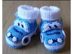 Blue baby boy booties knitted baby booties car by Mimmistore Baby Boy Booties, Baby Boots, Knitted Booties, Crochet Baby Booties, Knitted Baby, Baby Booties Free Pattern, Baby Album, Charlotte Tilbury, Toys For Boys
