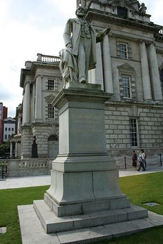 James Horner Haslett, grounds of City Hall, Belfast