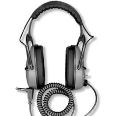DetectorPro Gray Ghost Deep Woods Metal Detector Headphones >>> To view further for this item, visit the image link.-It is an affiliate link to Amazon.