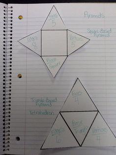 grade 5 2D and 3D shapes
