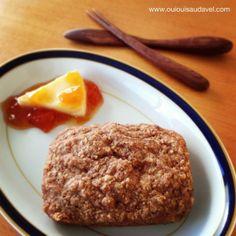 OuiOui Saudável: Pão de aveia sem glúten