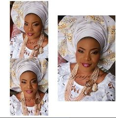 628c79bc851 12 Best Nigerian Wedding Trends  Monotone Aso-oke images