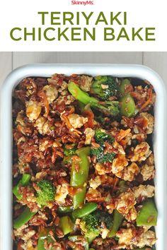 Asian Recipes, New Recipes, Cooking Recipes, Favorite Recipes, Chicken Teriyaki Recipe, Baked Chicken Recipes, Classic Recipe, Food Dishes, Recipes