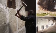 Video: Islamic State group destroys ancient ruins of Nimrud